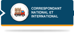 correspondant national et international